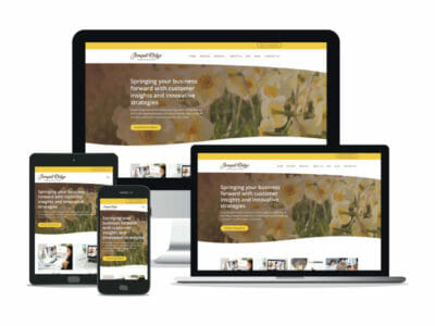 Jonquil Ridge Innovation website in different screen resolutions